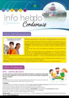 Info'Hebdo n°7 du jeudi 15 février 2018