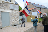 ceremonie patriotique Les Sables