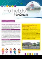 Info'Hebdo n°5 du jeudi 1er février 2018