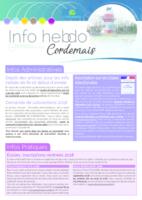 Info'Hebdo n°42 du jeudi 7 décembre 2017