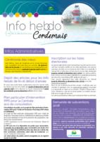 Info'Hebdo n°44 du jeudi 21 décembre 2017
