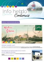 Info'Hebdo n°1 du jeudi 4 janvier 2018