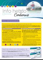 Info'Hebdo n°17 du jeudi 26 avril 2018