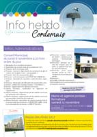 Info'Hebdo n°37 du jeudi 2 novembre 2017
