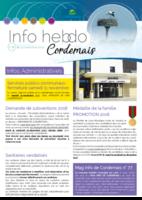 Info'Hebdo n°38 du jeudi 9 novembre 2017