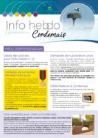 Info'Hebdo n°35 du jeudi 19 octobre  2017