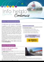 Info'Hebdo n°9 du jeudi 1er mars 2018