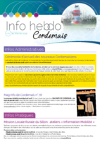 Info'Hebdo n°6 du jeudi 8 février 2018
