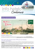 Info'Hebdo n°2 du jeudi 11 janvier 2018