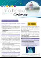 Info'Hebdo n°4 du jeudi 25 janvier 2018