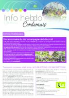 Info hebdo n°26 du jeudi 28 juin 2018