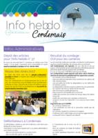 Info'Hebdo n°36 du jeudi 26 octobre  2017