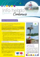 Info'Hebdo n°3 du jeudi 18 janvier 2018
