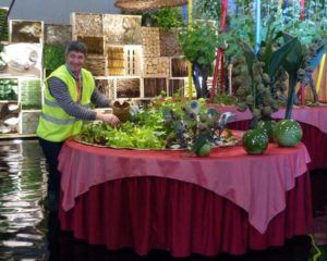 Floralies Nantes-Stand CCCE 2014