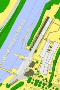 Plan promenade du port Cordemais